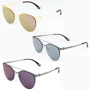 Occhiali-da-sole-XLAB-xlab301-oro-specchio-sunglasses-Made-italy