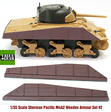 1/35 Pacific Sherman Wood Plank Armor M4A2 Set #2 - Value Gear Stowage SB422