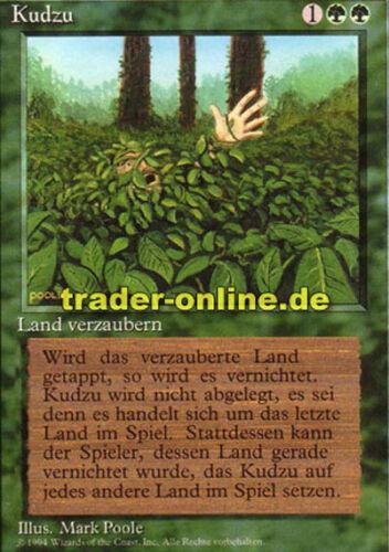 Kudzu Magic limited black bordered german beta fbb foreign deutsch limit Kudzu