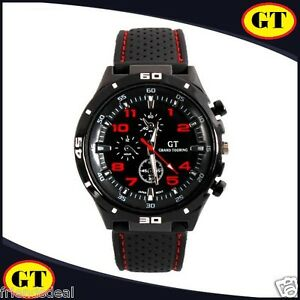 2016 f1 gt sports mens watches wrist watch rubbersilicon strap image is loading 2016 f1 gt sports mens watches wrist watch