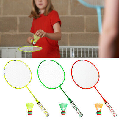 Outdoor Badminton Ball Sport Training Exercise Game Color Plastic Y5Q1