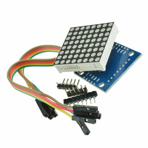 Raspberry Pi MAX7219 Dot Led Matrix MCU Control LED Display Module BBC
