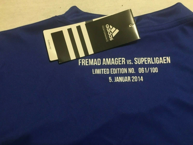 T-shirt, Limited edition, Addidas/Superligaen, str. XL,…