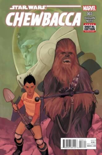 Chewbacca #3 First Printing Marvel Star Wars Comic Book 2015 Phil Noto