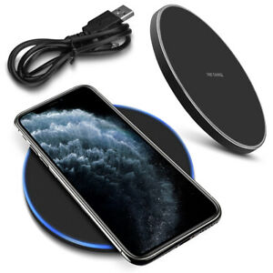 schnell ladeger t apple iphone 11 pro max qi wireless charger induktives laden ebay