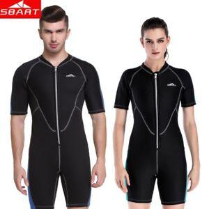 890b8b845 Image is loading 2mm-Neoprene-Wetsuits-Men-Women-One-Piece-Swimsuit-