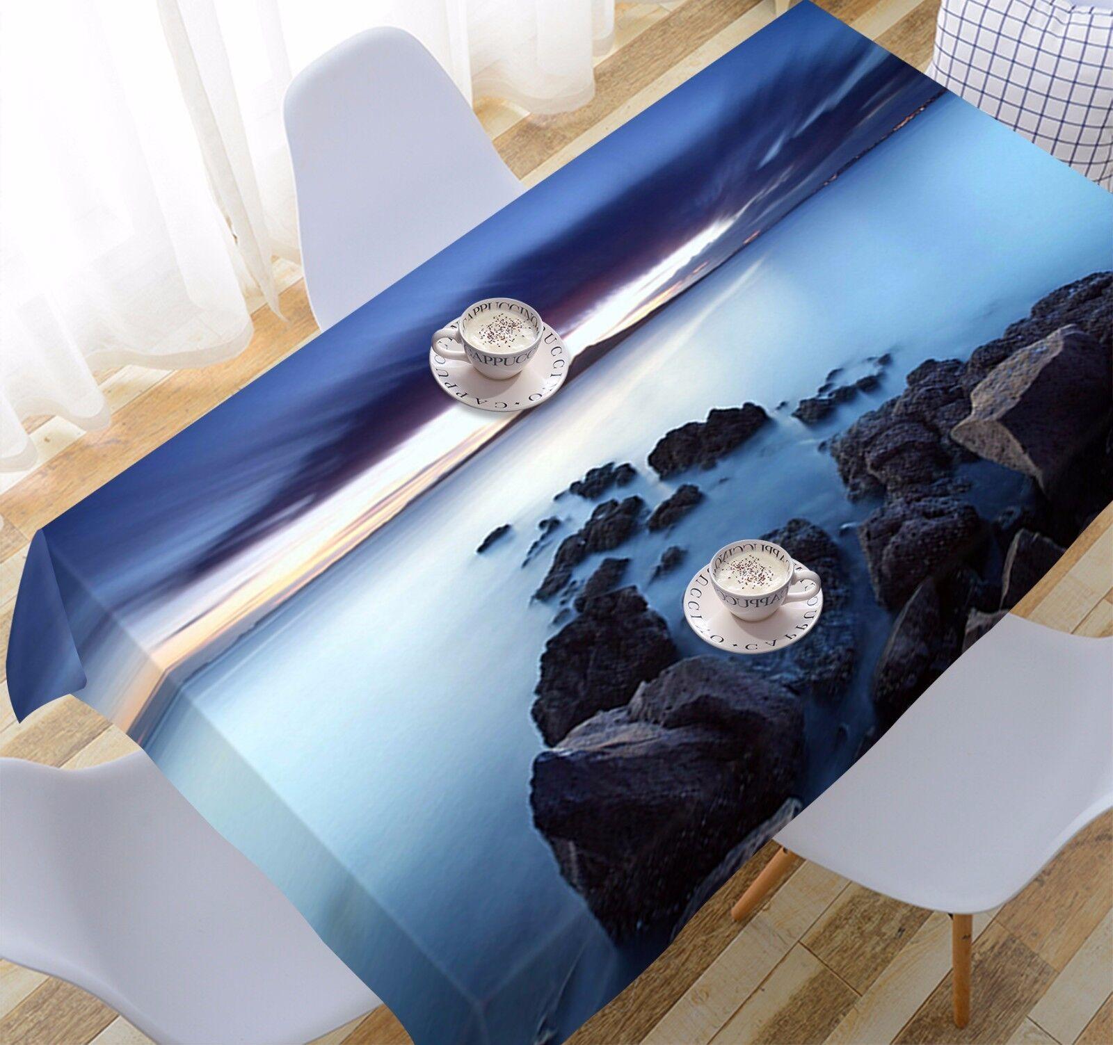 3D Ciel Mer 904 Nappe Table Cover Cloth Fête D'Anniversaire événement AJ papier peint UK