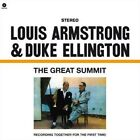 Great Summit [Bonus Track] [OGV] by Duke Ellington/Louis Armstrong (Vinyl, Feb-2012, Wax Time)