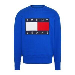 Tommy-Hilfiger-TJM-Tommy-Flag-Crew-Felpa-Uomo-DM0DM07201-CKB-Surf-The-Web