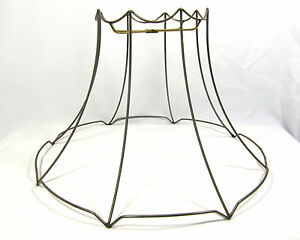 Lamp shade wire frame large for table floor hanging custom hand made image is loading lamp shade wire frame large for table floor keyboard keysfo Images