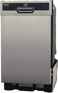 Energy Star 18 Built-In Dishwasher w/Heated Drying - Stainless