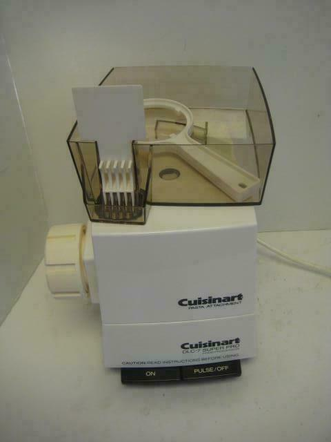 Cuisinart DLC-054 Pasta Maker Fixation Processeur base DLC-7 Food + Pates Matrices