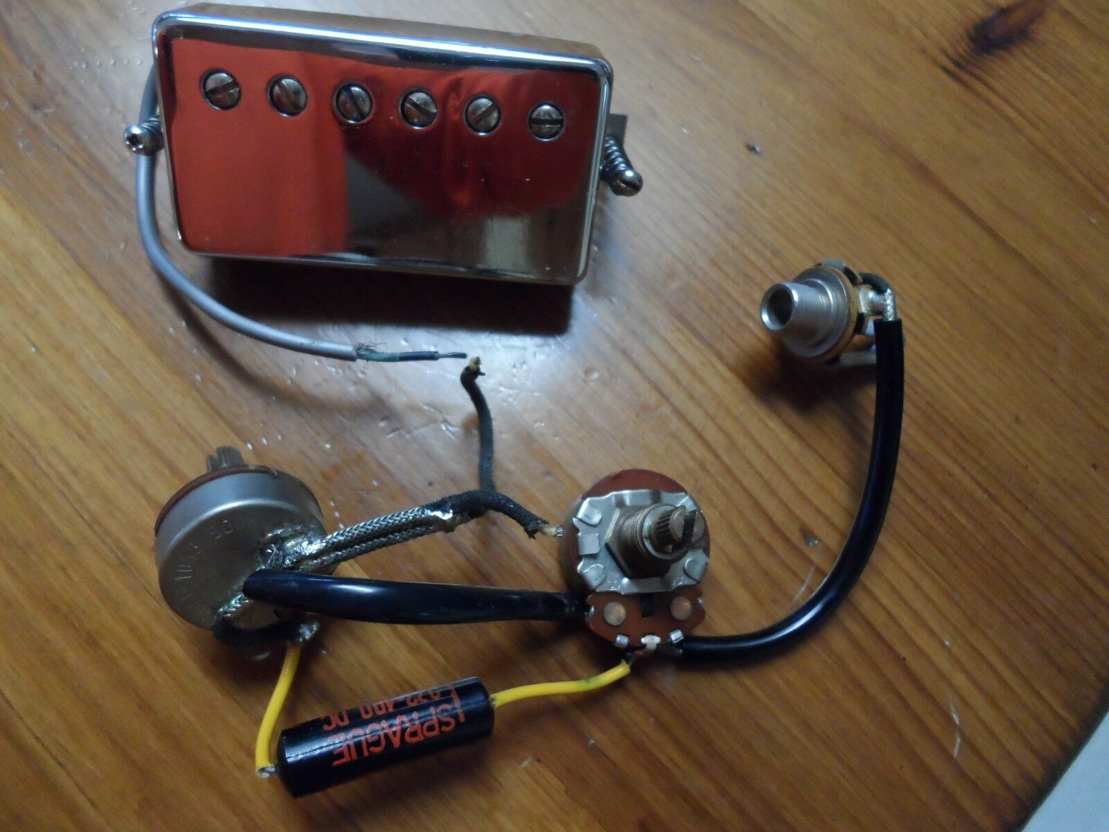 1967 Gibson Humbucker & CTS 500k Potentiometers ES-335 Pots SG Les Paul USA