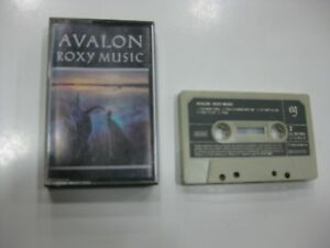 ROXY Musik Kassette Spanisch Avalon 1982