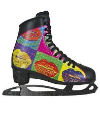 Powerslide Lips Women's/girls Ice Skates Black black Size: 2.5 UK 35 EU