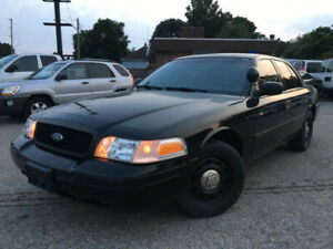 2011 FORD CROWN VICTORIA POLICE  INTERCEPTOR  ***CERTIFIED***