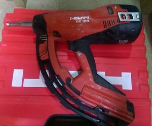 hilti gx 120 nail gun ebay. Black Bedroom Furniture Sets. Home Design Ideas