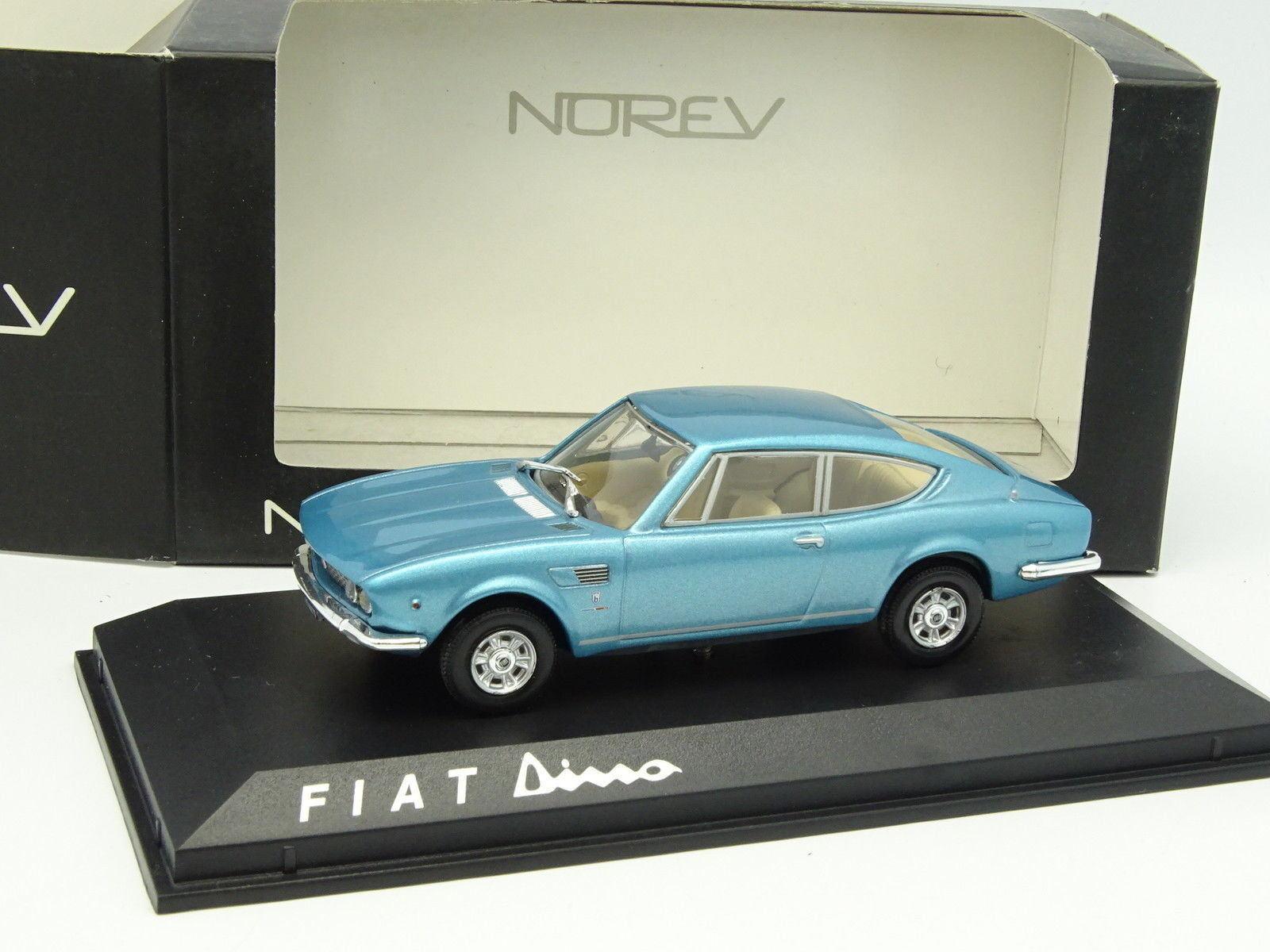 Norev 1 43 - Fiat Dino Blau