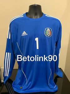 f8b38c8f0 Image is loading Mexico-Goalkeeper-Jersey-OROZCO-MEDIUM-COPA-ORO-ADIDAS-