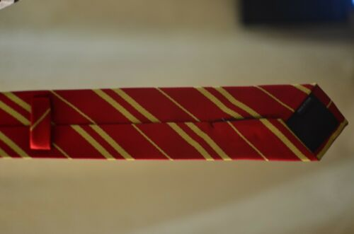 Harry Potter Hogwarts Gryffindor Neck Tie New Red Striped Unisex Cosplay Costume