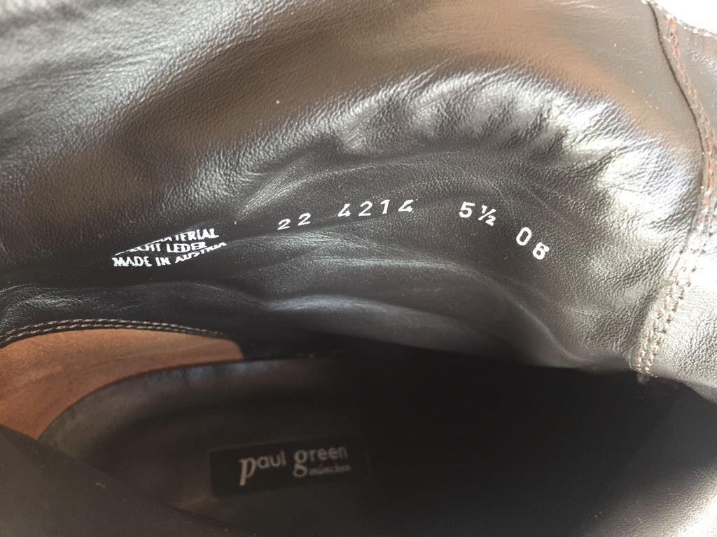 Paul Green Damen Stiefelette Größe 5 Earth 1/2 Echtleder Velour braun Earth 5 82269e