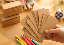 Retro Message cards Word cards Business cards 100±5pcs/box Note Card