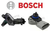 Volvo Turbo Boost Pressure Sensor In Intercooler + Fuel Pressure Sensor Bosch