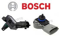 Volvo Turbo Boost Pressure Sensor In Intercooler + Fuel Pressure Sensor Bosch