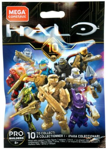 Halo Mega Bloks Construx Anniversary Series UNSC Air Assault Active Camo SEALED