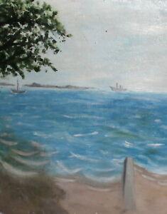 Vintage-impressionist-oil-painting-seascape