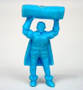 Figurine bleue premium Yupi Spider-Man des années 1980, Colombie - Rare