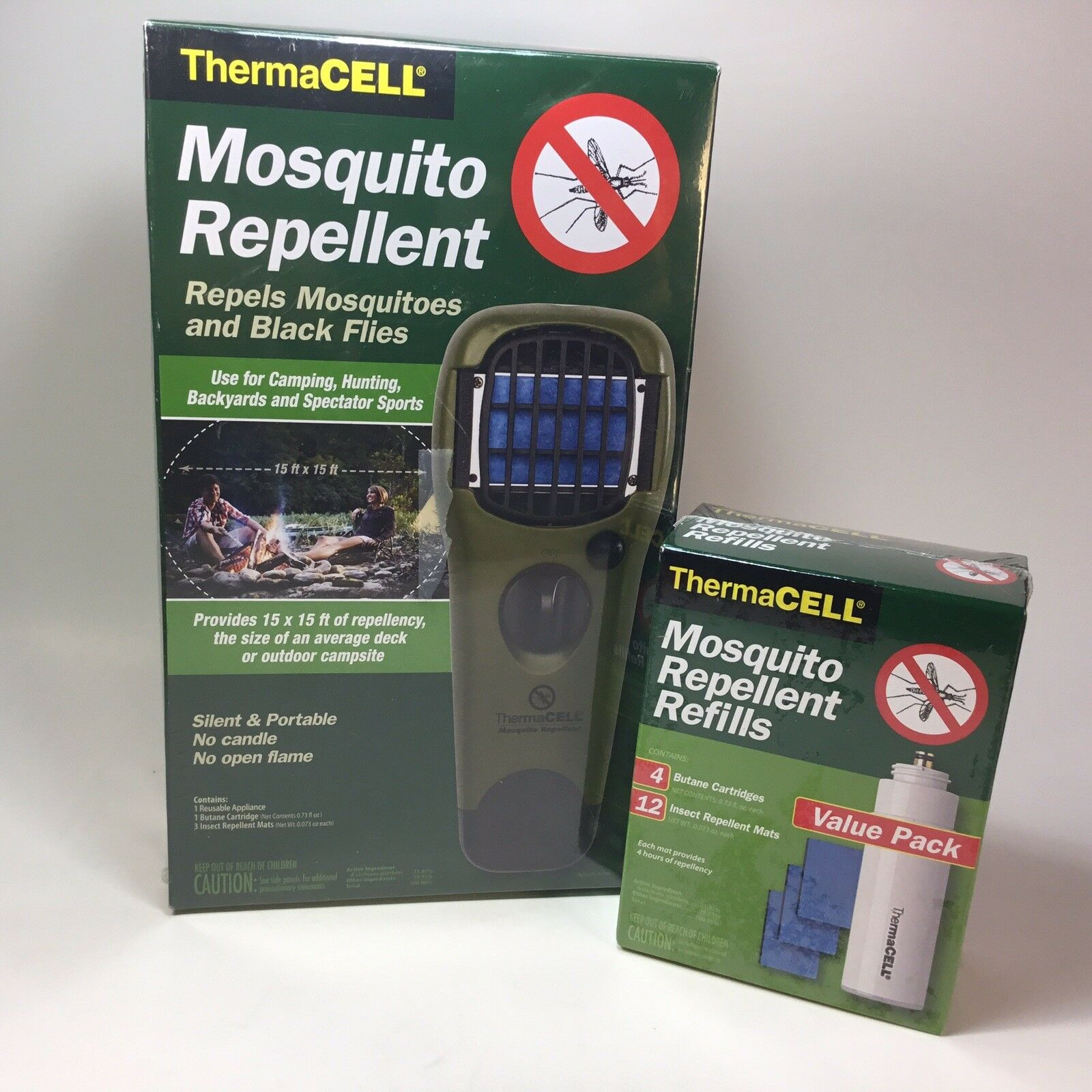 ThermaCELL Mosquito Repellent APPLIANCE WITH REFILLS Olive  MR-GJ