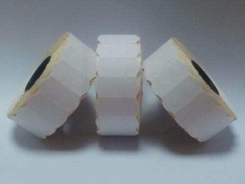 1500 PEELABLE Adhesive Genuine Sato Samark 26 Wavy Pricing Labels