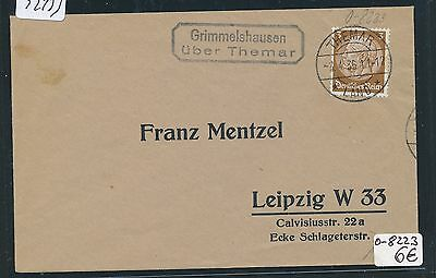 92133) DR > DDR Landpost Ra2 Grimmelshausen über Themar, DS 1936