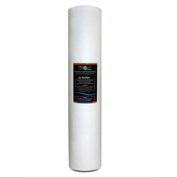 SP20BB20-FilterLogic 20 20 20  Big blu Filata Poliestere 20 Micron Sedimenti Filtro 67e2d0