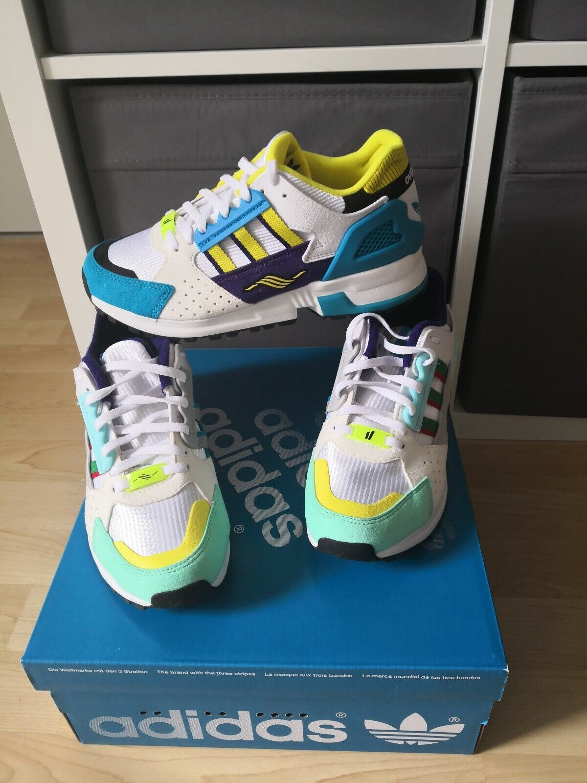 Adidas ZX 10000 C C C Overkill Torsion Hydra Womens US 5 EU