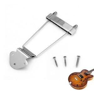 Details about Electric Bass Guitar Trapeze Tailpiece Bridge For 6 String  Archtop Guitar LA