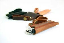 BIC custom leather lighter case, cover, sleeve, keyring - free engraving