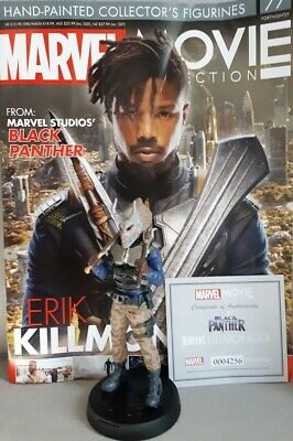 Flight Tracker Marvel Movie Collection #77 Erik Killmonger (black Panther) Eaglemoss Englisches