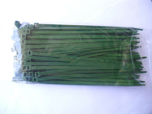 Fascette per Cavi Verde 500 pezzi in qualità industriale 2,6x100 mm