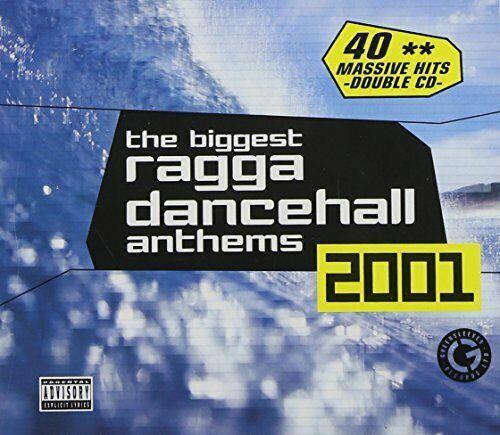 The Biggest Ragga Dancehall Anthems 2001 / T.O.K. Lady Saw Tony Rebel 2CD Neu
