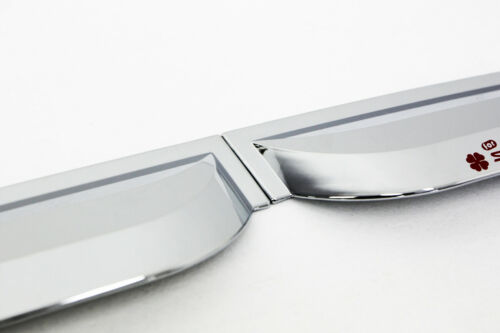 4 pieces Auto Clover Chrome Wind Deflectors Set for Kia Sportage 2010-2015