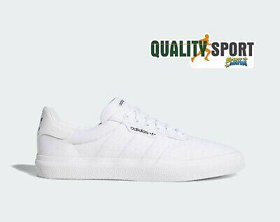 Adidas 3MC Bianco Canvas Tela Scarpe Shoes Uomo Sportive Sneakers B22705 2019 | eBay