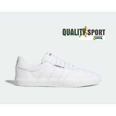ADIDAS SCARPE 3MC bianche white da uomo donna sneakers in tela estive gazelle