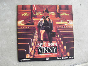 My Cousin Vinny Movie Laserdisc Marisa Tomei Joe Pesci Ebay A curtain b cushion c poster d rug. ebay