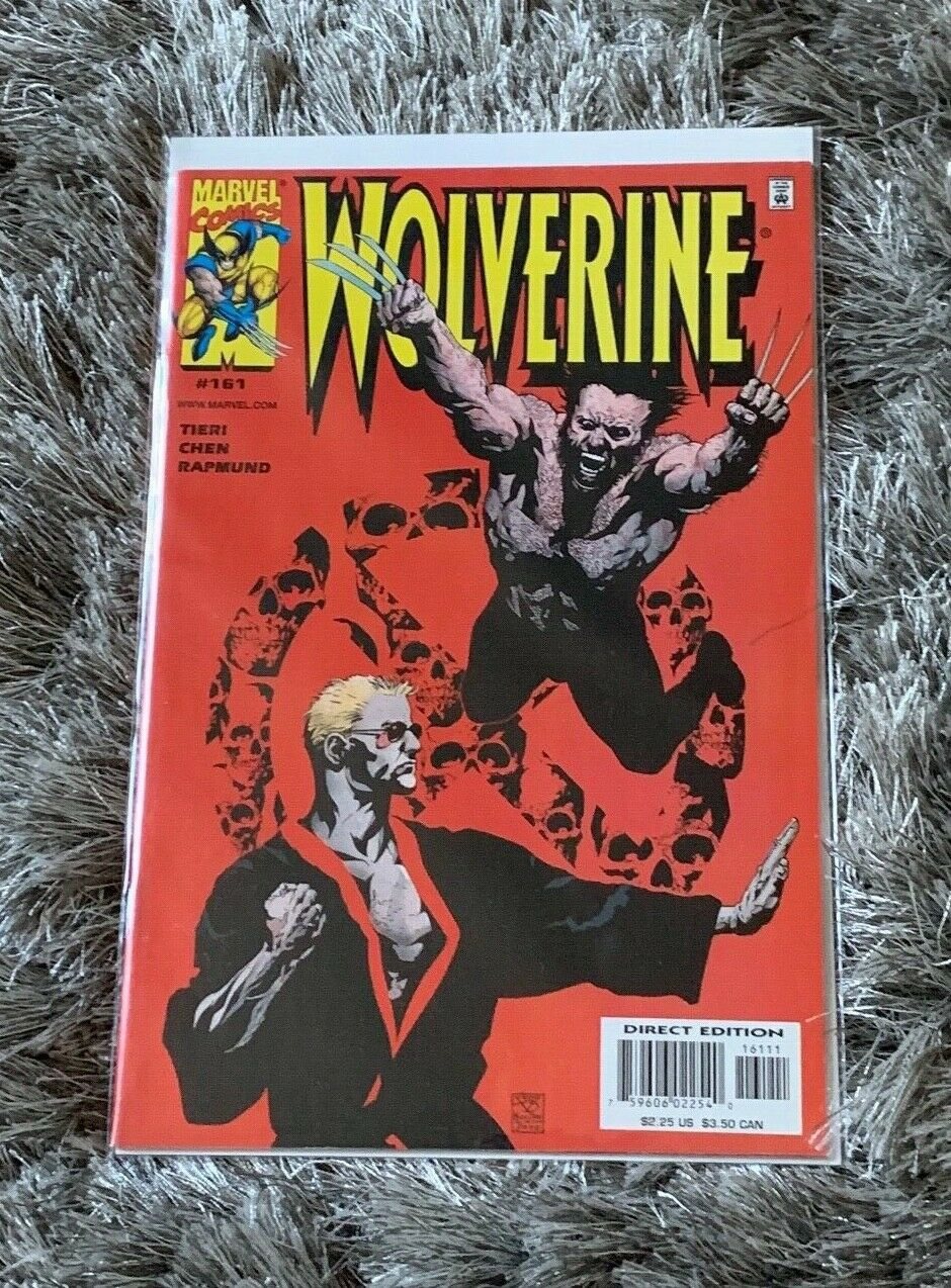 MARVEL Comics Wolverine #172 March 2002 NM w//Alpha Flight