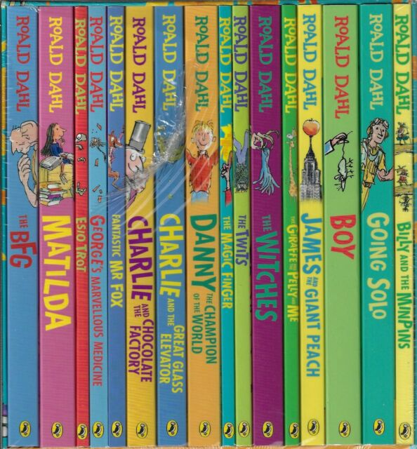 ROALD DAHL COLLECTION - 16 BOOK SET - BRAND NEW AND SEALED