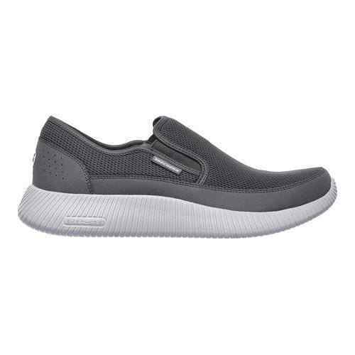 Skechers Men's Depth Charge-Flish Charcoal 52419 CHAR New