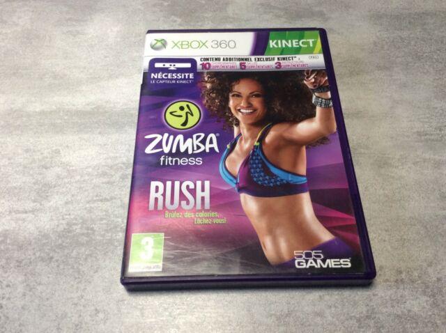 XBOX 360 Zumba Fitness Rush XBOX MICROSOFT PAL FR COMPLET