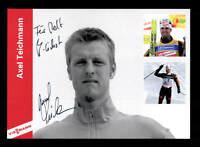 Axel Teichmann Autogrammkarte Original Signiert Skilanglauf + A 166505